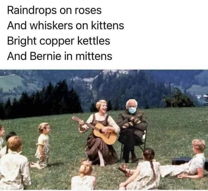 47 Best Funny Bernie In Mittens Memes