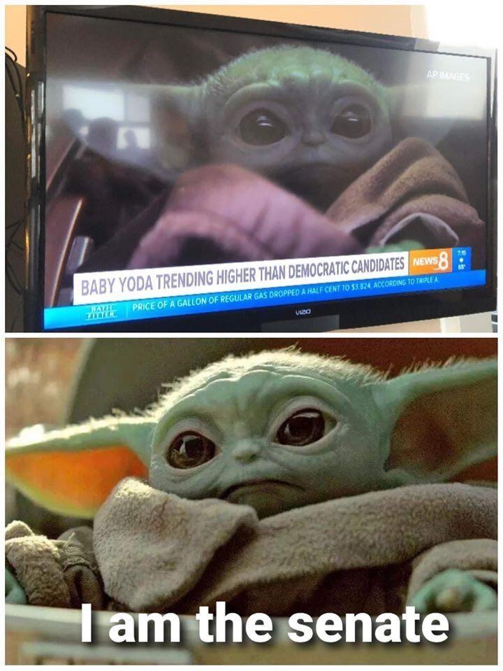 50 Best Funny Baby Yoda Memes